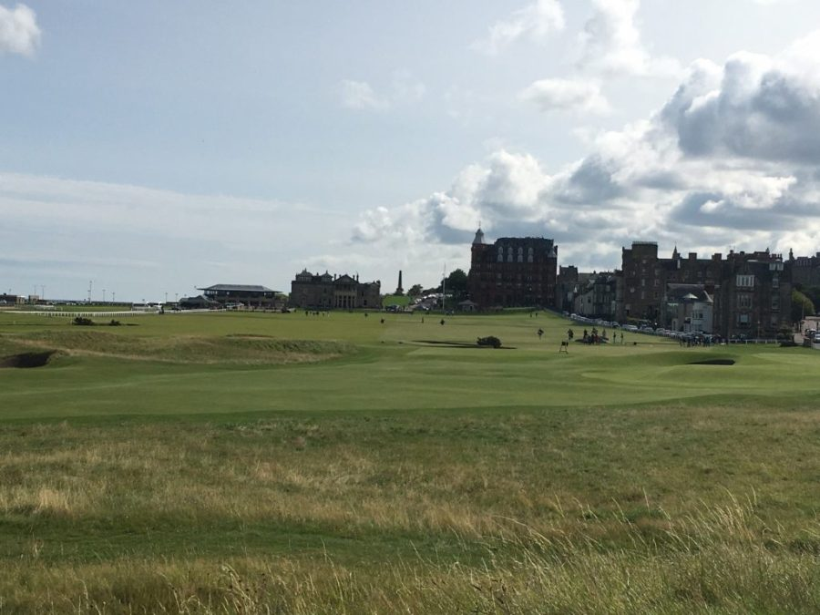 18th Hole – old course St Andrews.
