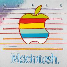 classic Macintosh Ads painting by Andy Warhol