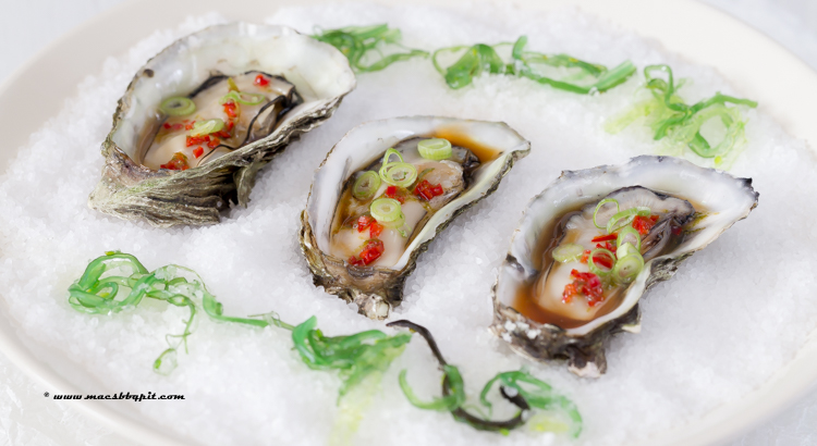 Barbecue-oesters