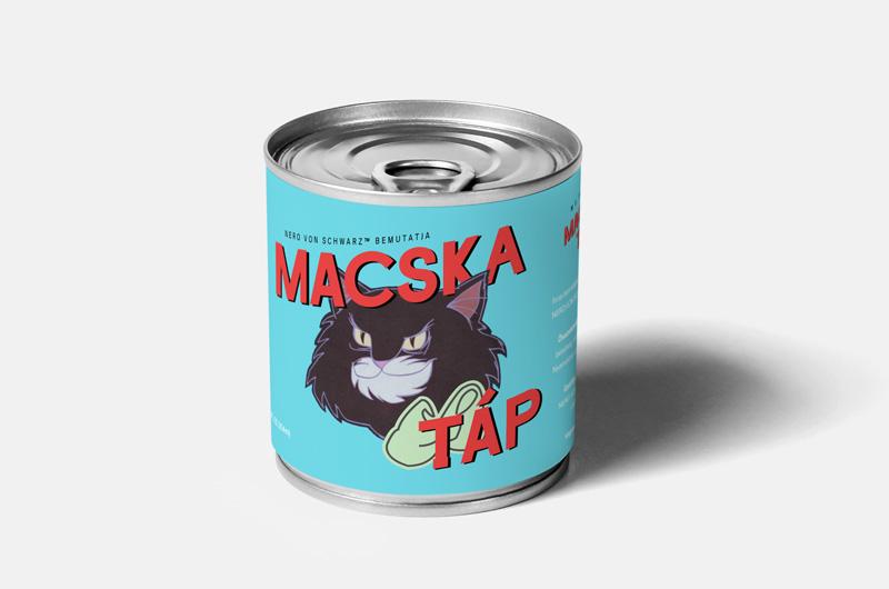 Macska Táp konzerv