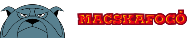 MACSKAFOGO fejléc logó