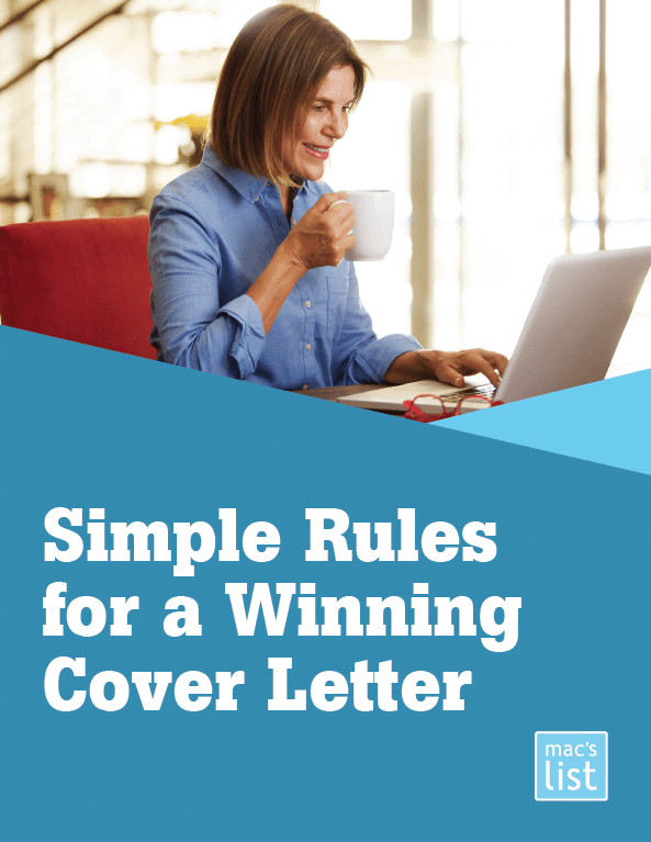 Simple Rules for a Winning Cover Letter  Find Your Dream Job Podcast  Thank You  Macs List