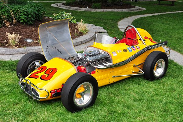 Fred Johns 1958 Kurtis Offy Midget Roadster