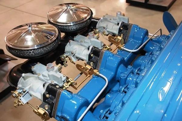 Carter sidedraft carburetors