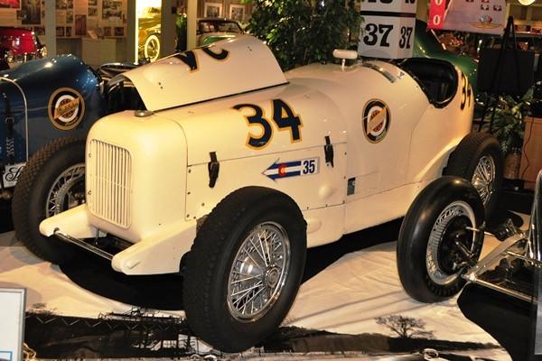 1933 Studebaker Indianapolis Special no. 34