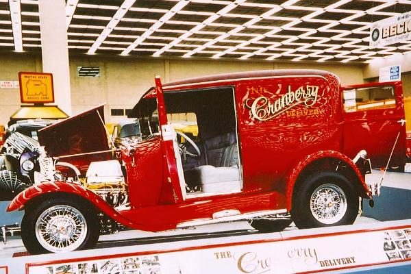 1980 Everett Rezendes 1928 Ford A Sedan Delivery Cranberry Delivery