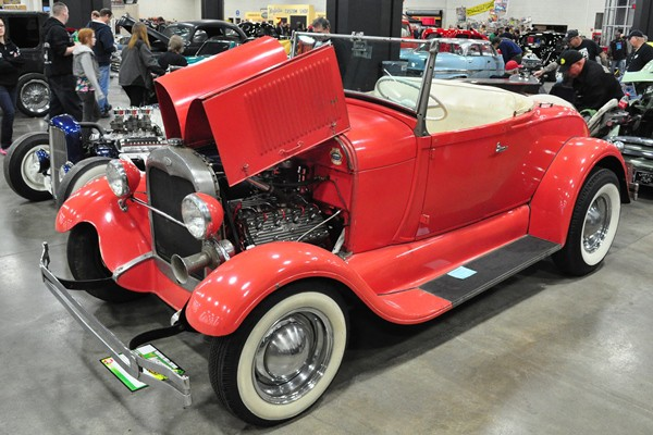 Randy Bianchi 1929 Ford Model A Roadster