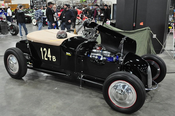 Ron Limbrick 1927 Ford Model T track roadster