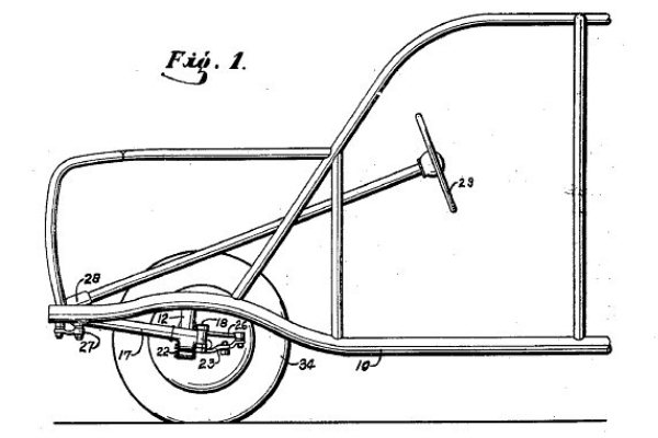 Ford soybean car Fig 1 patent 2,269,452