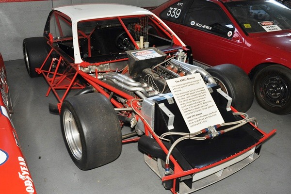 Roush IRS road racing chassis