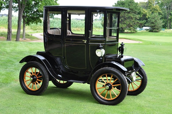 1911 Baker Electric Special Extension Coupe Terence E. Adderly