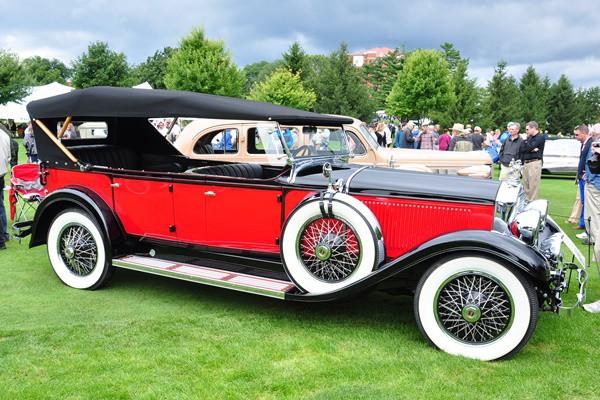 1929 Stearns-Knight Model J Phaeton Al Giddings