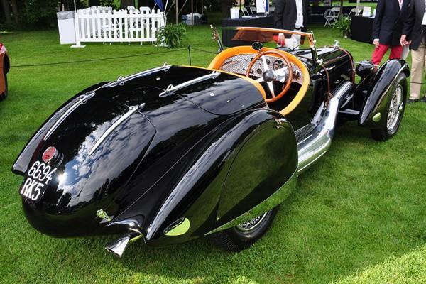 1935 Talbot-Lago 150C Roadster rear Jim Patterson