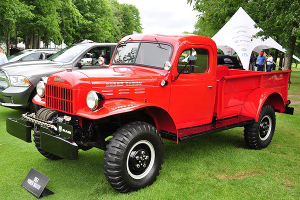 1954 Dodge Power Wagon Chrysler Hist. Collection
