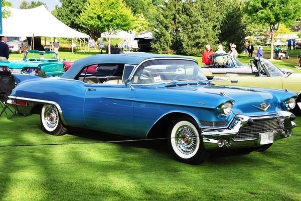 1957 Cadillac Eldorado Biarritz Convertible George W. Weaver