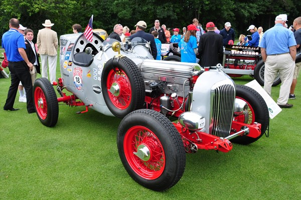1936 Buick Boattail racer Larkin Thomas