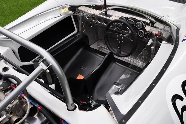 1966 Lola T70 Mark II Spyder Denis Bigioni cockpit