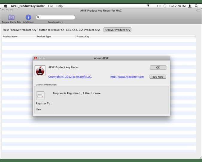 key finder for mac
