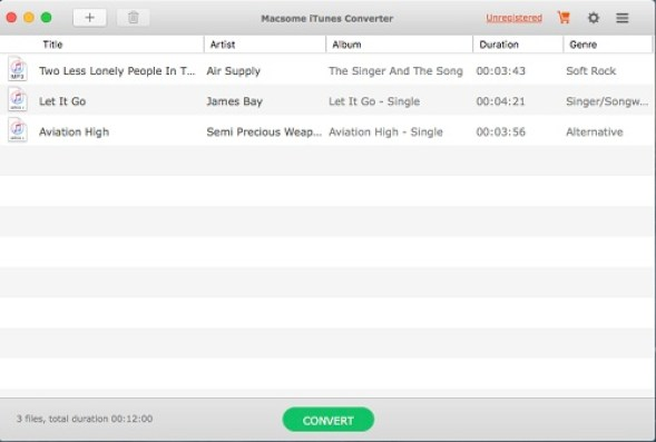 Macsome iTunes Converter