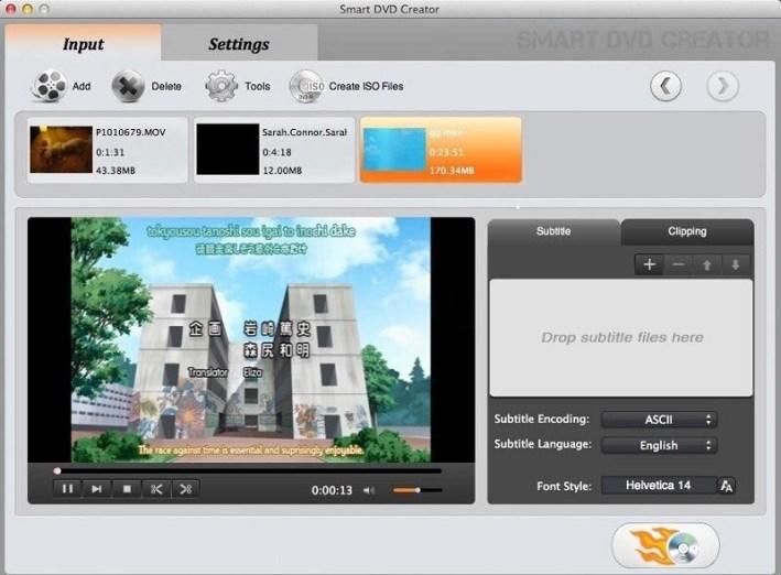 Smart DVD Creator mac