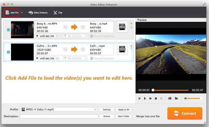 Video Editor Enhancer mac
