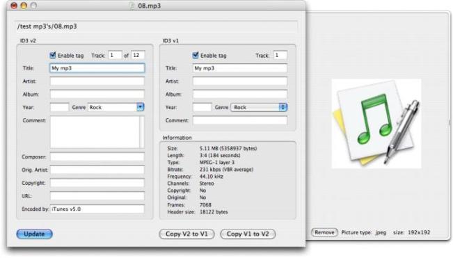 Music Tag Editor mac