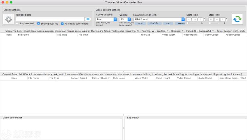 Thunder Video Converter Pro mac