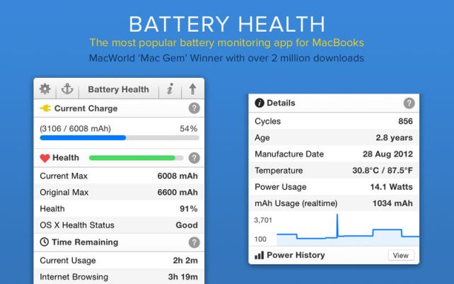 Battery Health mac