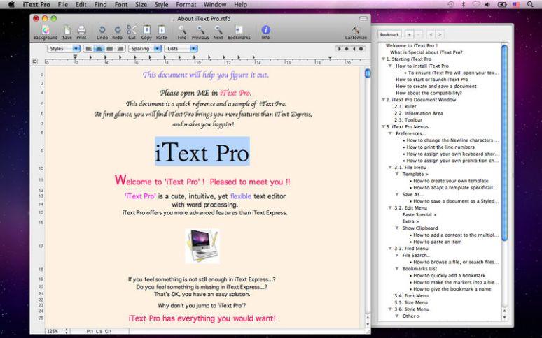 iText Pro mac
