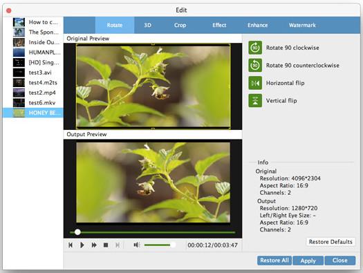 Tipard Mac Video Enhancer mac