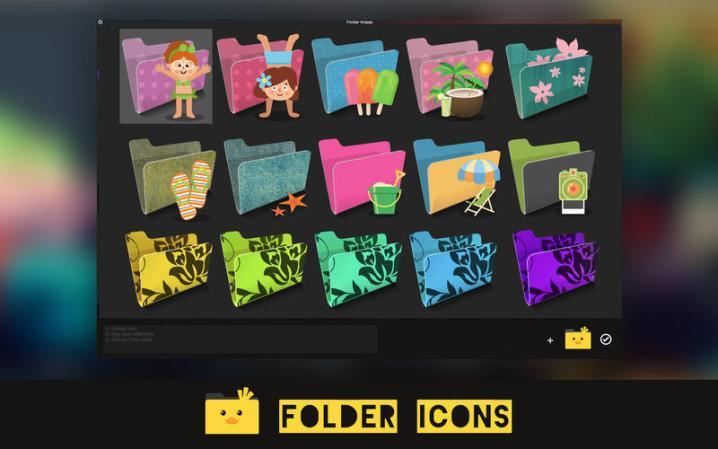 Folder Icons mac