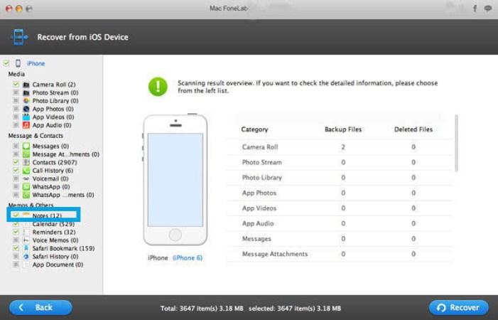 Mac FoneLab iOS