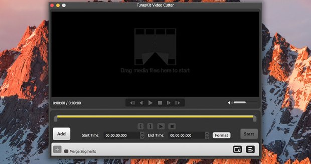 TunesKit Video Cutter mac