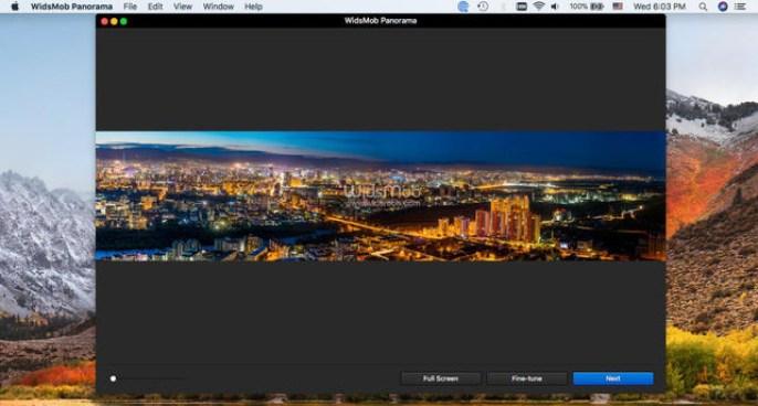 WidsMob Panorama mac