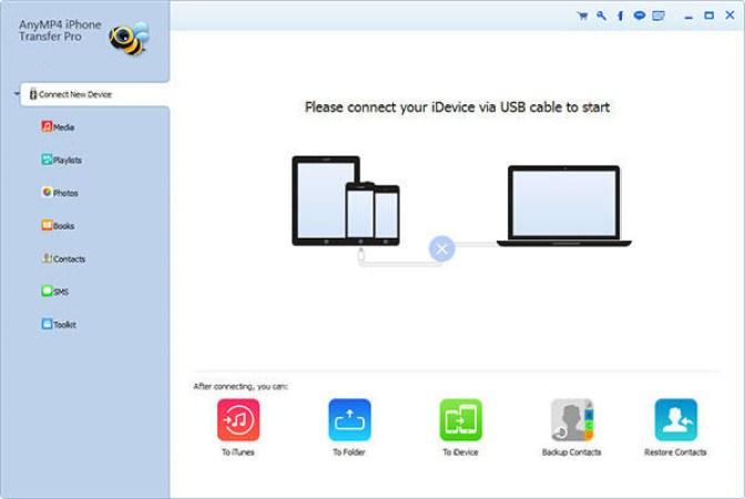 AnyMP4 iPhone Transfer Pro mac