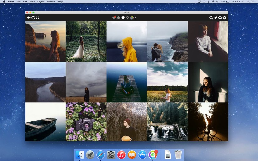 Grids for Instagram Mac