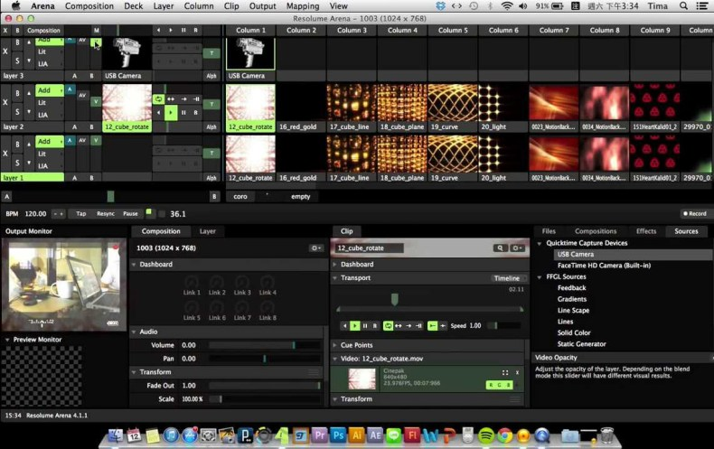 Resolume Arena for Mac