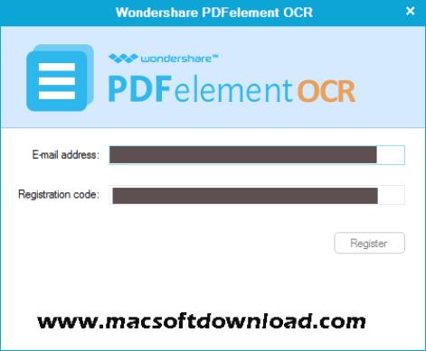 Wondershare PDFelement OCR Mac