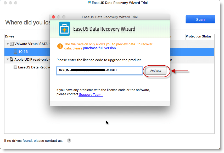 EaseUS Data Recovery Mac