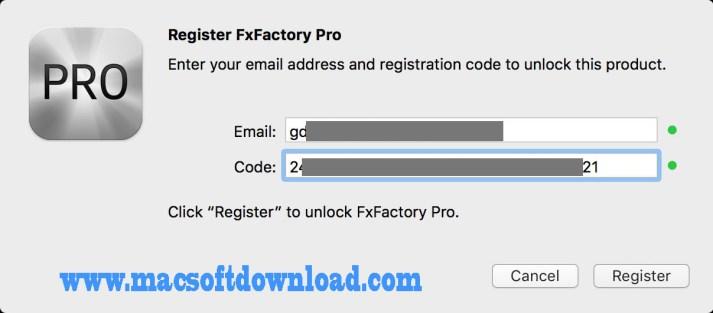 FxFactory activation