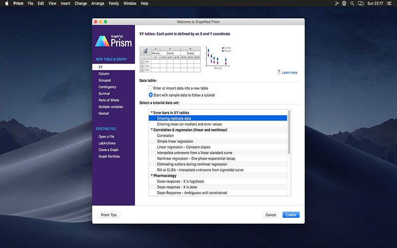 GraphPad Prism Macos