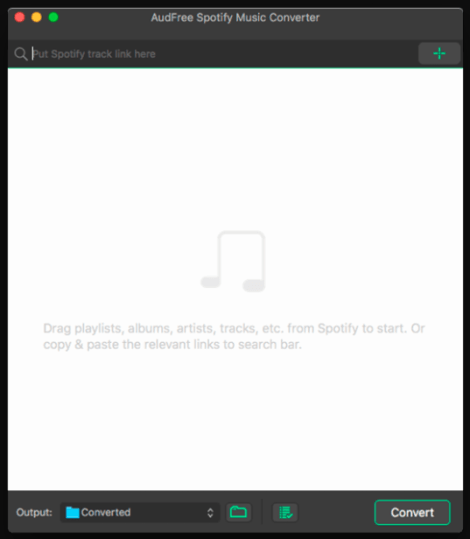 AudFree Spotify Music Converter Mac