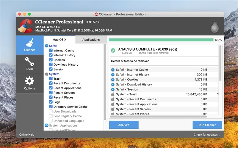 CCleaner Pro Mac