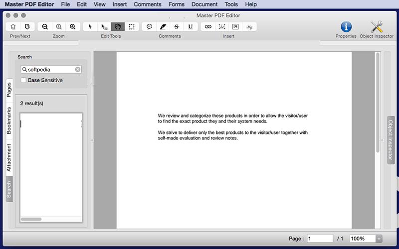 Master PDF Editor MacOS