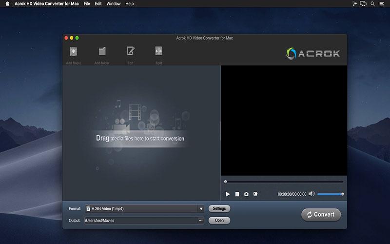 Acrok HD Video Converter Mac