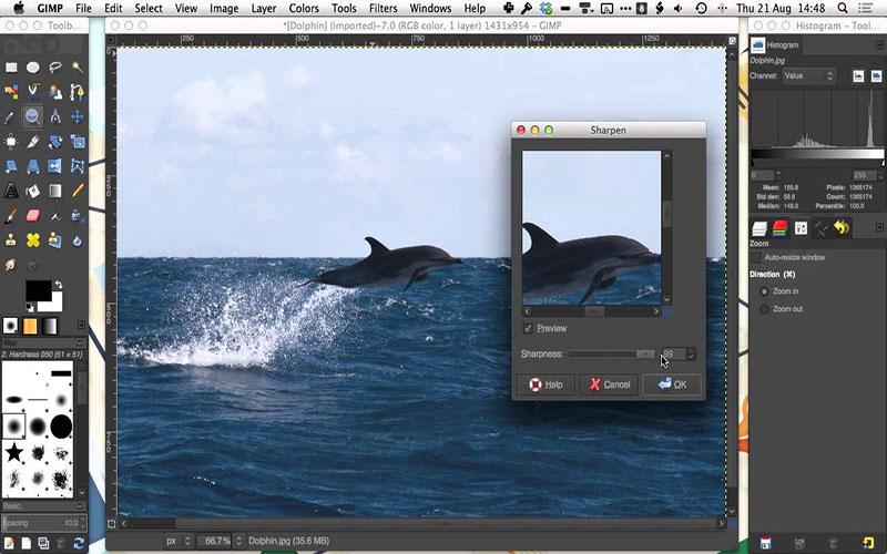 GIMP for mac