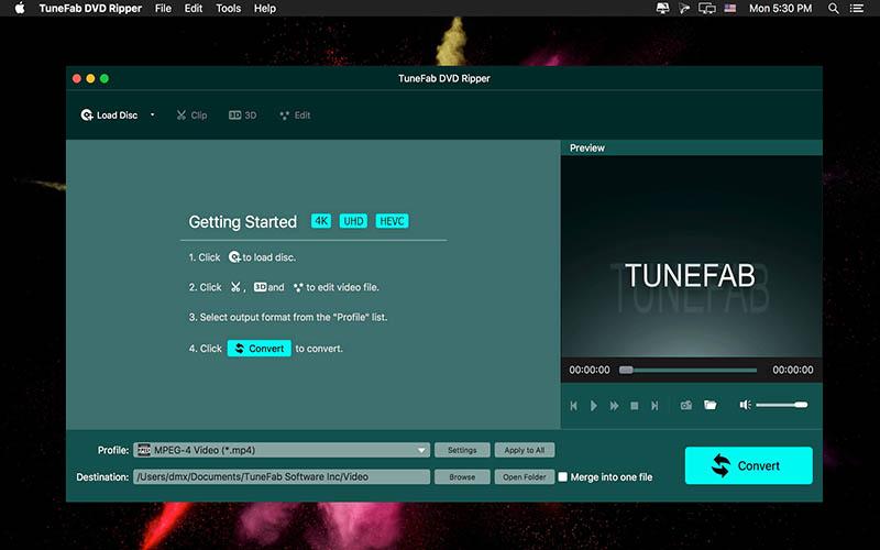 TuneFab DVD Ripper Mac