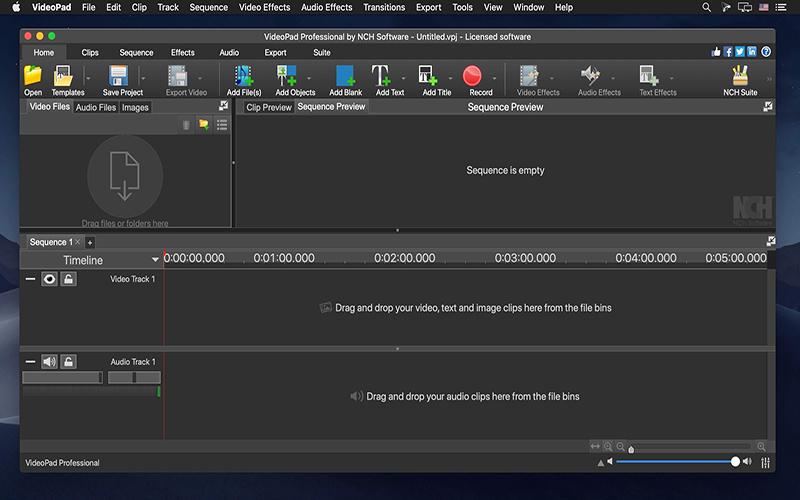 VideoPad Professional Mac