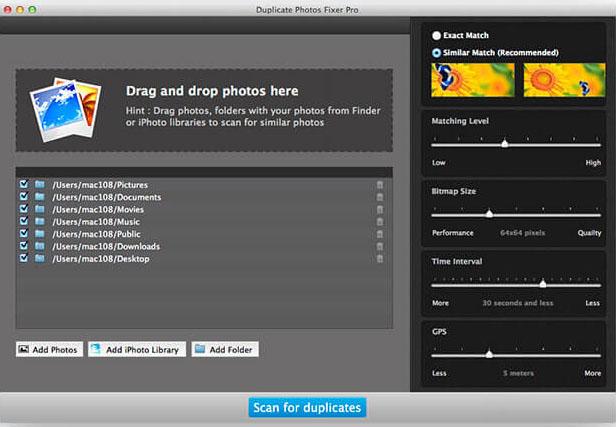 Duplicate Photos Fixer Mac