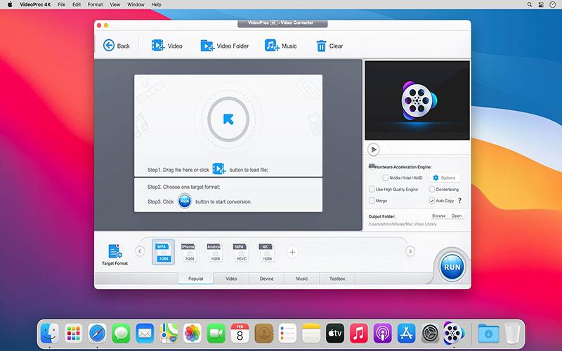 VideoProc 4K Mac